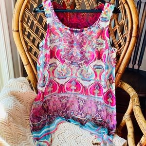 Live and Let Live sleeveless top Size M Item 77